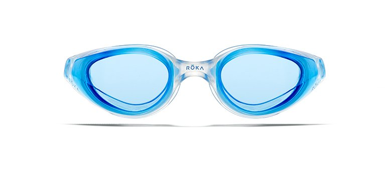 R1 Goggles With Cobalt Mirror Lens