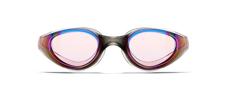 R1 Goggles With Dark Vermilion Mirror Lens