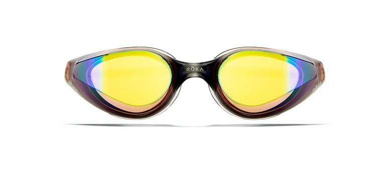 R1 Goggles With Dark Amber Mirror Lens